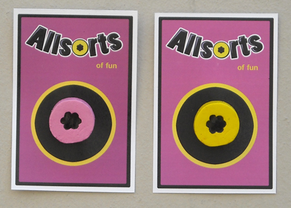allsort brooches