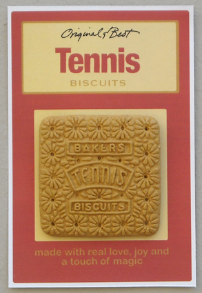 Tennis Biscuit Brooch